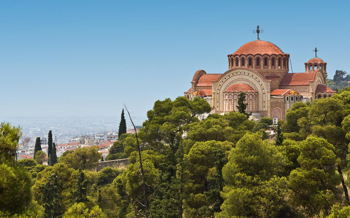 Die Kirche Agios Pavlos in Thessaloniki © Panos Karas / Shutterstock.com
