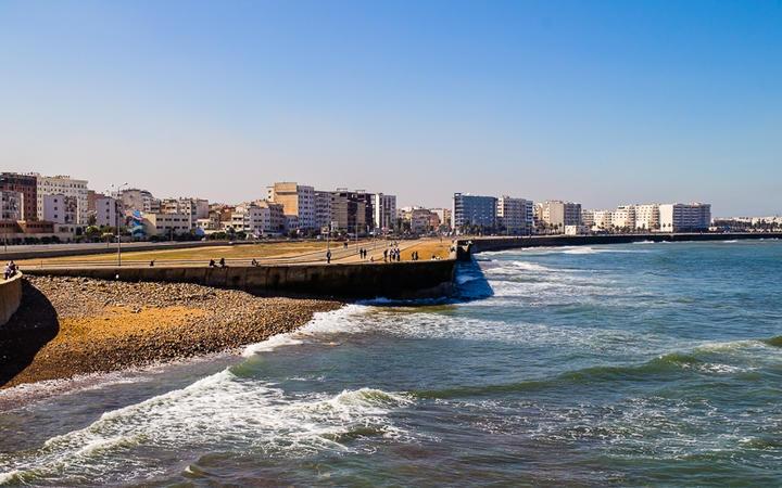 Panorama von Casablanca, Marokko © OPIS Zagreb / Shutterstock.com