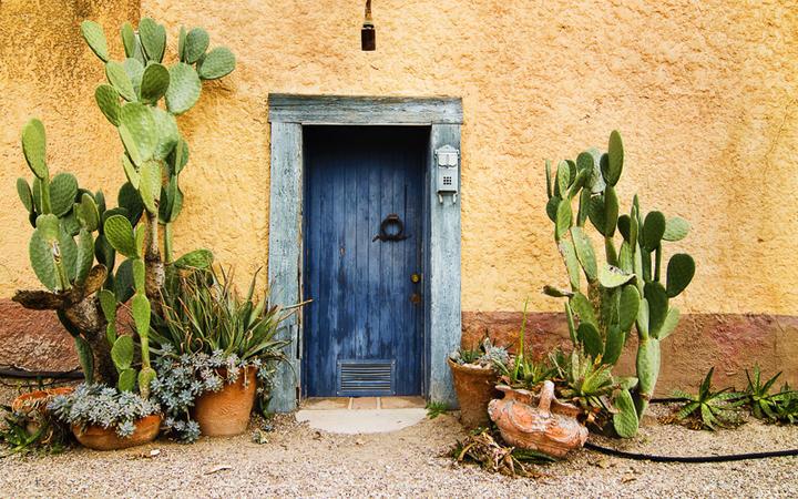 Typisch mexikanischer Hauseingang © Paul Matthew Photography / Shutterstock.com
