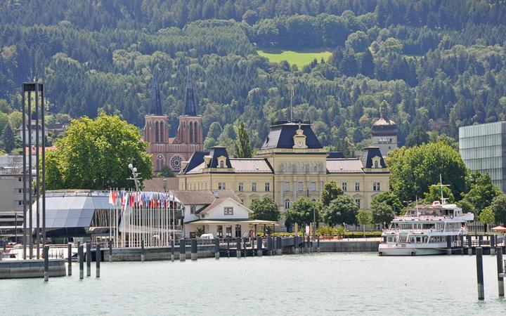 Blick auf den Hafen von Bregenz © Wenk Marcel / shutterstock.com