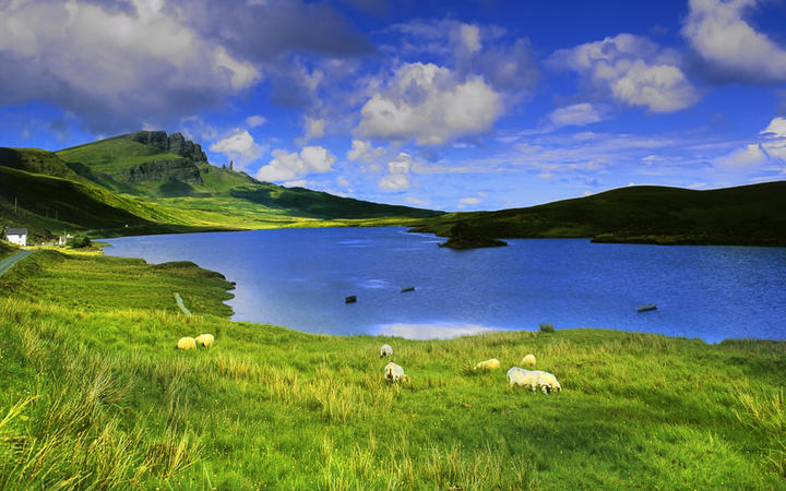 Isle of Sky in Schottland © David Hughes./ shutterstock.com