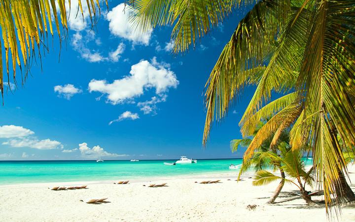 Karibischer Strand auf Paradise Island © photopixel / Shutterstock.com