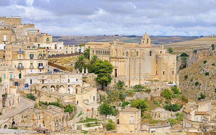 Das Gebäude Sant'Agostino in Matera © LianeM / Shutterstock.com